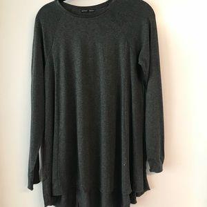 Zara Collection Gray Tunic. Size M.